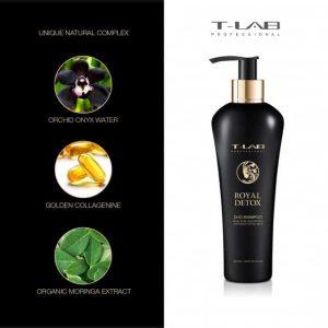 Royal detox duo shampoo T-LAB
