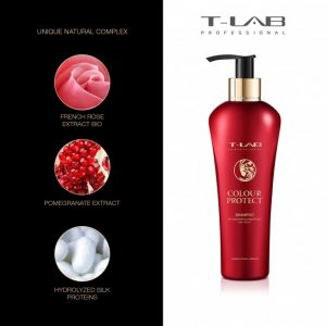 T-lab colour protect šampūnas dažytiems plaukams
