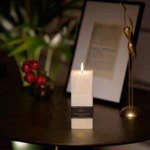 """,,Instinct"""" parfumuota palmių vaško žvakė Aromatic 89"""