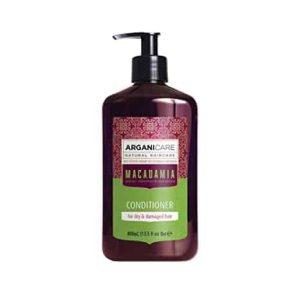Arganicare Macadamia conditioner for dry and damaged hair- Plaukų struktūrą atstatantis ir plaukus maitinantis kondicionierius