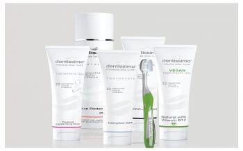 DENTISSIMO-Pasaulyje lyderiaujanti Šveicarijos dantistų sukurta kasdieninė burnos priežiūros linija!