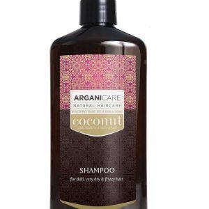 Arganicare šampūnas su kokoso ir argano aliejais