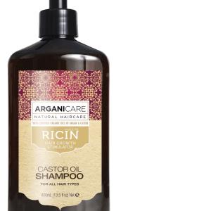 Arganicare plaukų šampūnas su ricinos aliejumi
